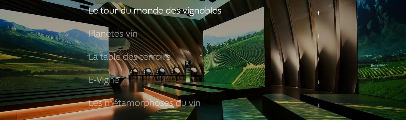 le tour du monde des vignobles à la cité du vin de bordeaux