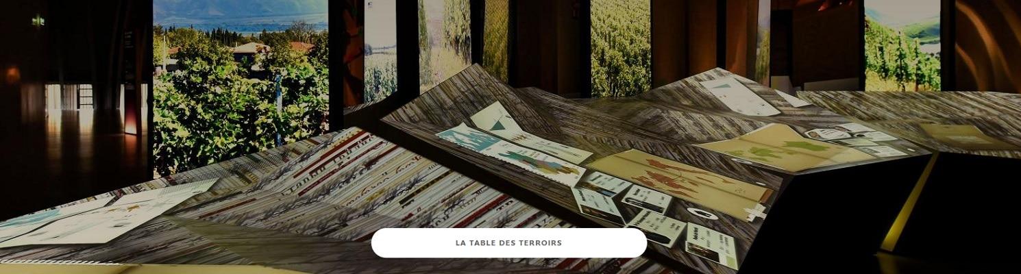 La table des terroirs à la cité du vin de bordeaux
